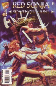 Red Sonja: Scavenger Hunt 1995 #1