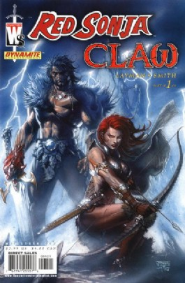 Red Sonja/Claw: the Devil's Hands #1