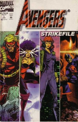 Avengers Strikefile #1