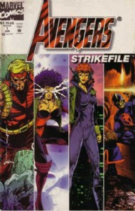 Avengers Strikefile 1994 #1