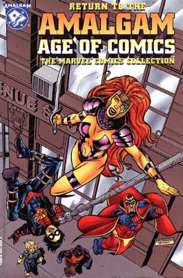 Return to the Amalgam Age of Comics: the Marvel Comics Collection #1