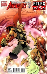 Avengers Vs. Atlas 2010 #4