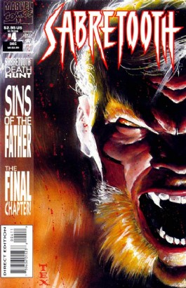 Sabretooth (1st Series) #4