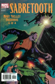 Sabretooth: Mary Shelley Overdrive 2002 #4