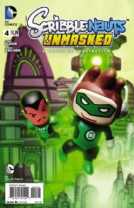 Scribblenauts Unmasked: Crisis of Imagination 2014 #4