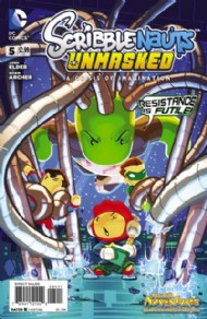 Scribblenauts Unmasked: Crisis of Imagination 2014 #5