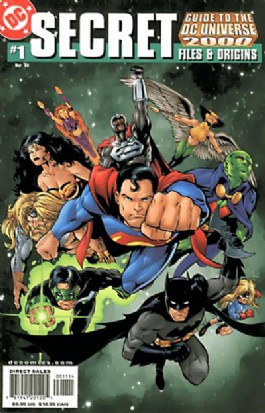 Secret Files and Origins Guide to the DC Universe #1