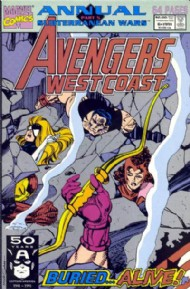 Avengers West Coast Annual 1990 #6