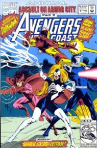 Avengers West Coast Annual 1990 #7