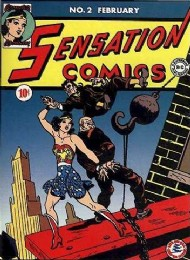 Sensation Comics (1st Series) 1942 - 1952 #2