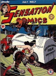 Sensation Comics (1st Series) 1942 - 1952 #7