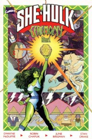 She-Hulk: Ceremony 1990 #1