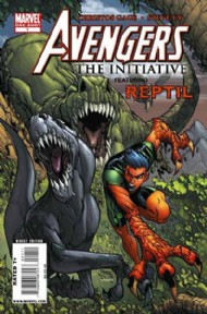 Avengers: the Initiative Featuring Reptil 2009 #1
