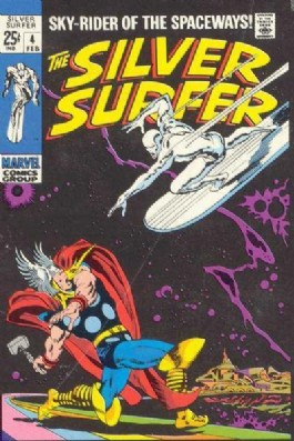 Silver Surfer (1st Series) #4