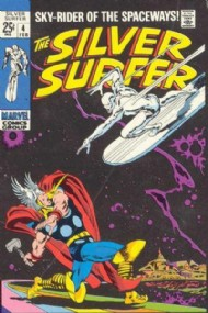 Silver Surfer (1st Series) 1968 - 1970 #4