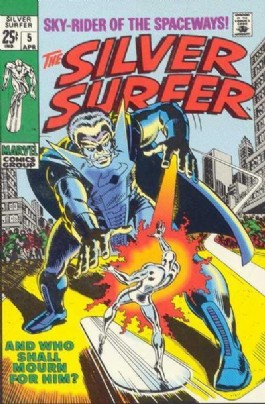 Silver Surfer (1st Series) #5