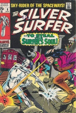 Silver Surfer (1st Series) #9