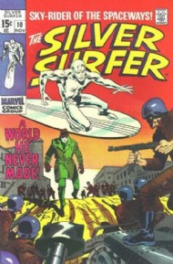 Silver Surfer (1st Series) 1968 - 1970 #10