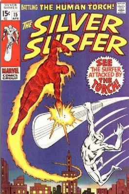 Silver Surfer (1st Series) #15