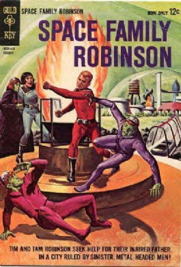 Space Family Robinson #10