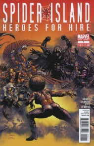 Spider-Island: Heroes for Hire 2011 #1