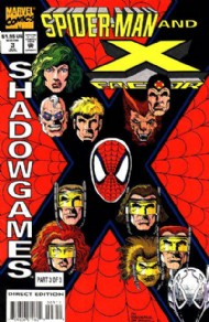 Spider-Man and X-Factor: Shadowgames 1994 #3
