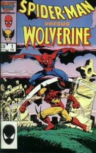 Spider-Man Vs. Wolverine (1st Series) 1987 #1