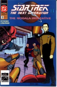 Star Trek: the Next Generation - the Modala Imperative 1991 #3
