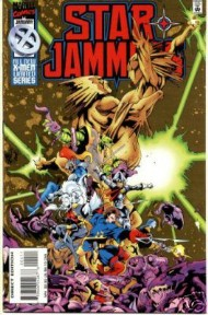 Starjammers (1st Series) 1995 - 1996 #4