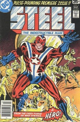 Steel, the Indestructible Man #1