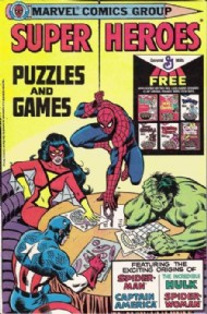 Super Heroes Puzzles and Games 1979 #1979