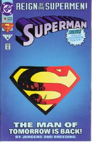 Superman (2nd Series) 1987 - 2006 #78