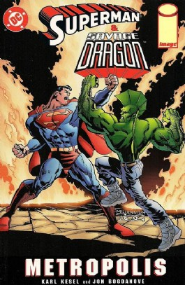 Superman and Savage Dragon: Metropolis