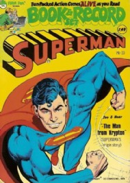 Superman Book and Record Set 1974