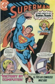 Superman Radio Shack 1980