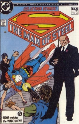 Superman: the Man of Steel (1st Series) #4