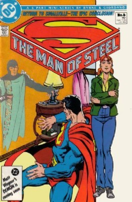 Superman: the Man of Steel (1st Series) #6