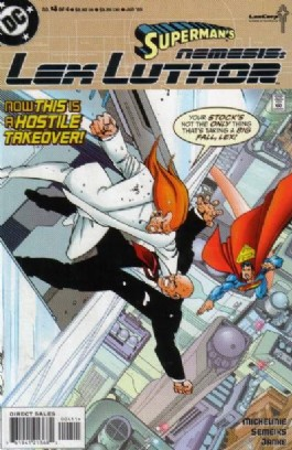 Superman's Nemesis Lex Luthor #4
