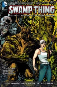 Swamp Thing (5th Series): Rotworld: the Green Kingdom 2013 #3