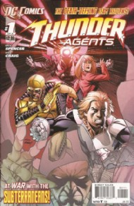 T.H.U.N.D.E.R. Agents (Series Two) 2012 #1