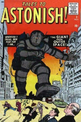 Tales to Astonish (1st Series) #3