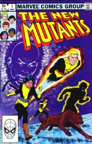 The New Mutants (1st Series) 1983 - 1991 #1
