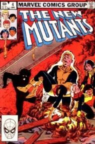 The New Mutants (1st Series) 1983 - 1991 #4