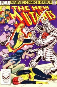 The New Mutants (1st Series) 1983 - 1991 #6