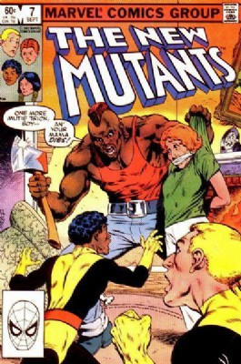 The New Mutants (1st Series) #7