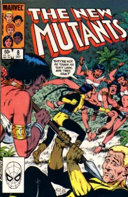 The New Mutants (1st Series) #8