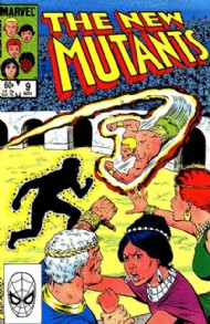 The New Mutants (1st Series) 1983 - 1991 #9