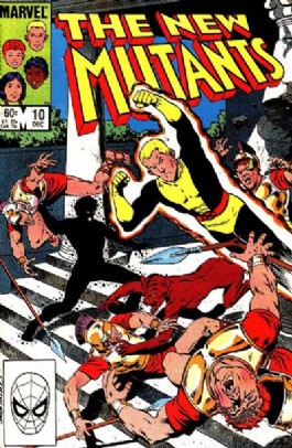 The New Mutants (1st Series) #10