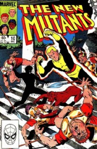 The New Mutants (1st Series) 1983 - 1991 #10