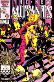 The New Mutants (1st Series) 1983 - 1991 #43
